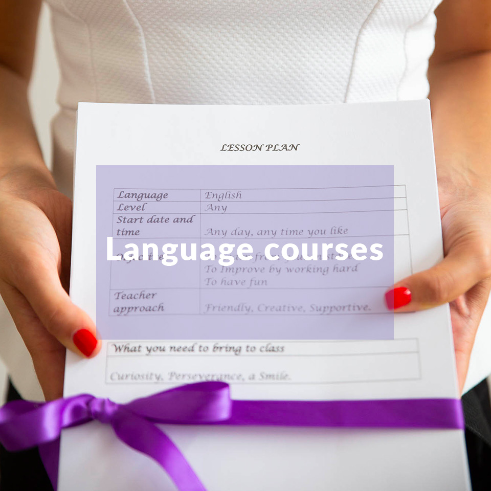 Stefania Bua - Language Stylist - Language Courses